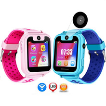 JQAIQ Kids Watches Smart Child Lbs Positioning Remote Monitoring Lighting Sos Emergency Phone Kid Watch Voice Chat