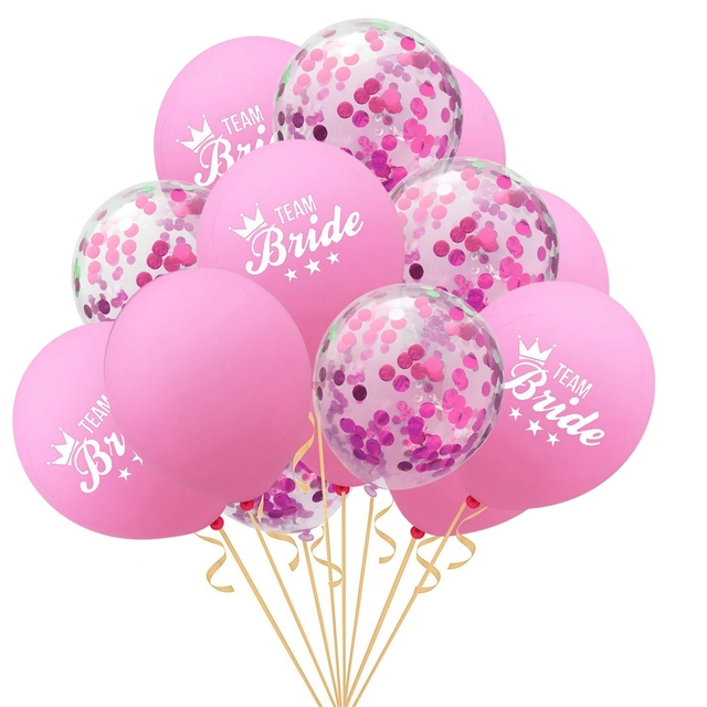 YORIWOO She Said Yaaas I Do Rose Gold Balloon Bride Wedding Team Bridal Shower Favors Hen Bachelorette Party Decorations To Be 5