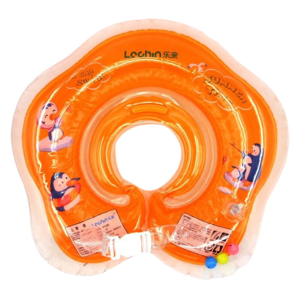 Toys For 0 2 Years : Baby inflatable swim ring safety child toys pool float