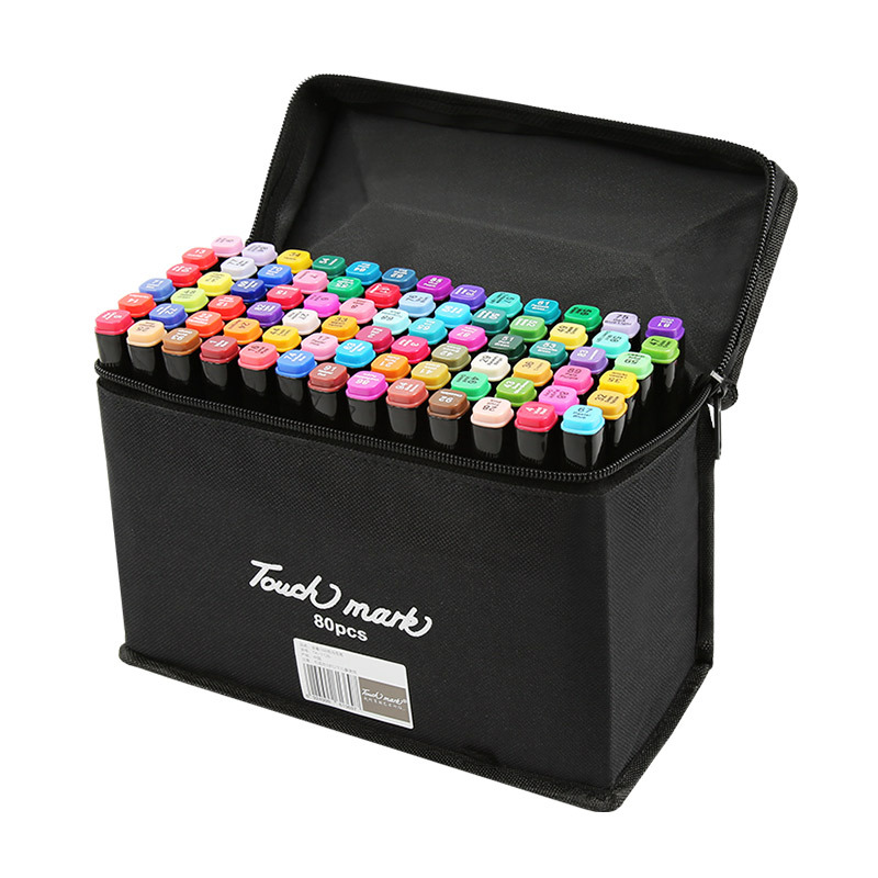 2430406080 Colors 3.0 Art Markers Alcohol Based Markers Drawing Pen Set Manga Dual Headed Art Sketch Marker Design Pens