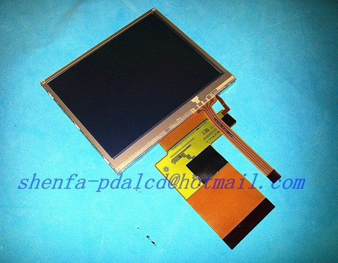 Original 3.5''inch Complete LCD display For sharp LQ035Q1DG01 LCD display panel with touch screen digitizer Free shipping original new 3 6 inch lcd lq036t1dg01 lq036t1dg01c lq036t1dg01b lcd display panel with touch screen digitizer free shipping