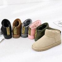 2017 New Style Snow Boots Short Plush Women S Short Boots Warm Comfortable Shoes Women S