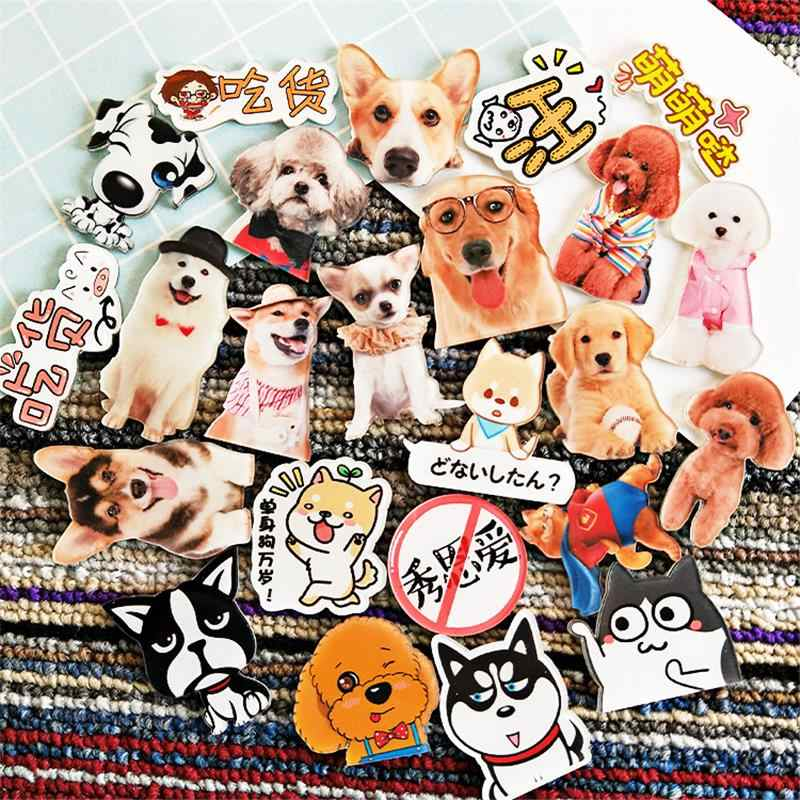 Maxsin 1 PC Lovely Dogs Teddy Husky Super cute dog Acrylic Badges Icons on The Backpack Pin Badge Decoration Badges for Bags