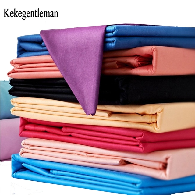 Kekegentleman Home textile 100% Cotton Bed Sheet Flat Sheets Combed Cotton Bedding Linen Solid Color for twin full queen king