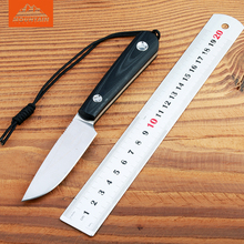 BMT Scout D2 KYDEX Hunting Fixed Blade Knife G10 Handle Camping Survival Outdoor Knives Utility Tools Knife OEM EDC Tool Gift