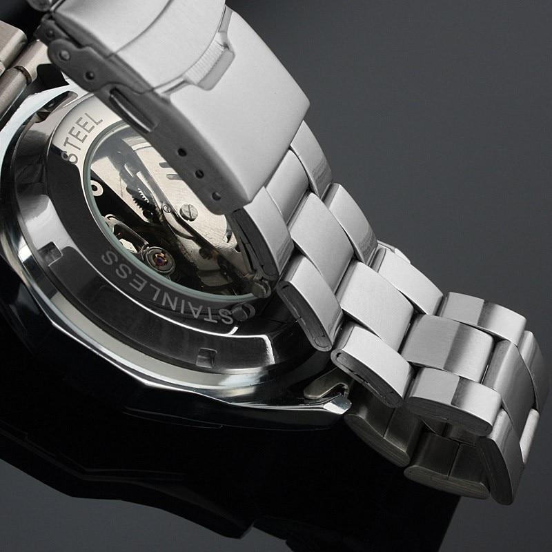 Fashion Top Brand Winner Mens Watches Luxury Skeleton Clock Man Classic Sport Watch Gift Automatic Mechanical Relogio Masculino