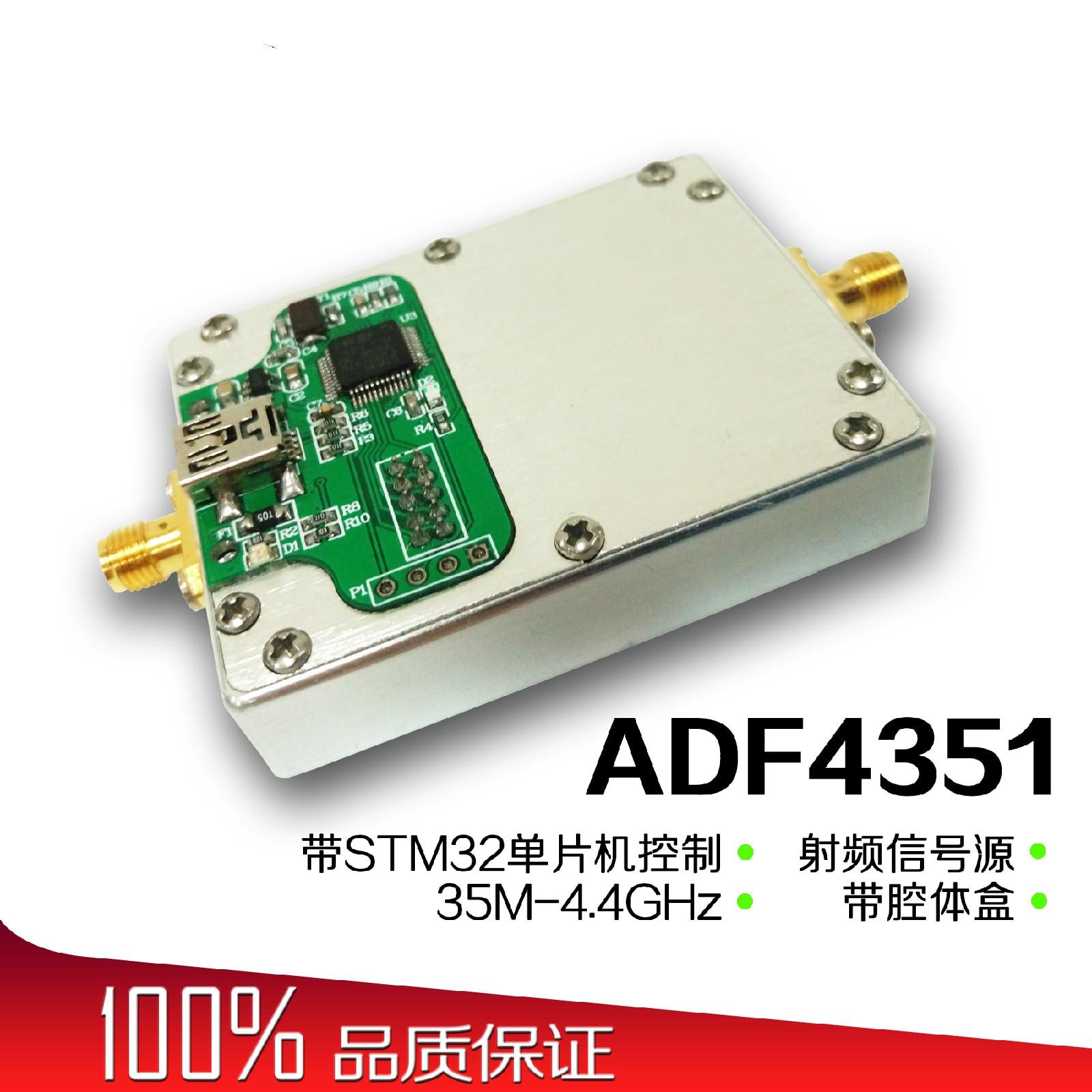 Adf4351 Pll Signal Quelle Frequenz Synthesizer Ist Gesteuert Durch Single-chip Mikrocomputer Mit Hohlraum Rf Pll.