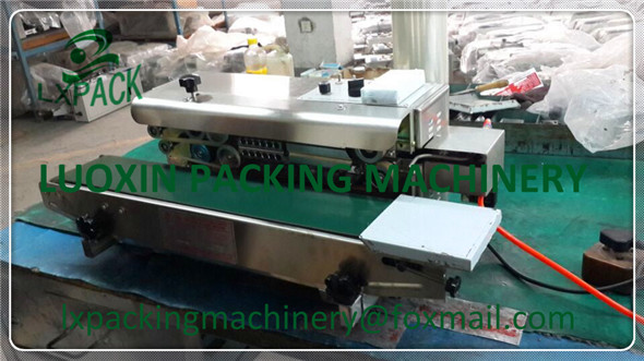 LX-PACK High Quality Customized Continuous inflation gas nitrogen film sealing machine sealer plastic bag packing machine high quality and customized plastic parts mold