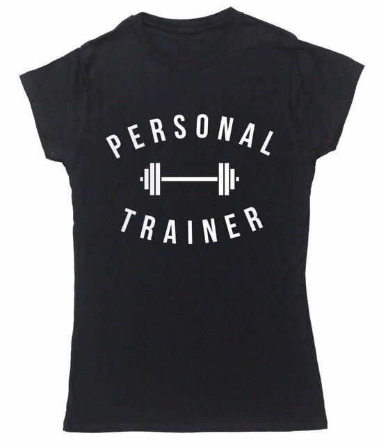 c82584c25d4f T-Shirts 2019 Brand Clothes Slim Fit Printing Fashion T-Shirt Women  Clothing Personal Trainer Design Women T-Shirt