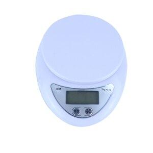 Image 2 - 5kg/1g 2kg/0.5g taşınabilir dijital ölçekli LCD elektronik terazi posta gıda ağırlık ölçme mutfak LED elektronik terazi