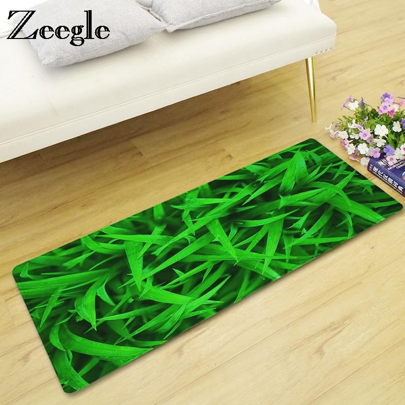 Us 11 49 44 Off Zeegle Gr Printed Balcony Table Chair Floor Rugs Long Kitchen Carpet Mat Living Room Hallway Area Rug Entrance Doormats In