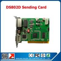 kaler LINSN DS802D LED display sending card synchronous dual color sender led controller card scrolling message led sending card