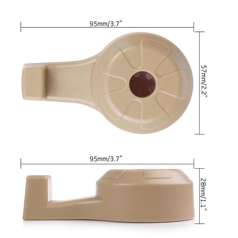ONEVER 2 pièces Voiture Clip de Fixation Pour Sacs Auto Siège Portable Crochet Cintre Sac à main Titulaire Organisateur