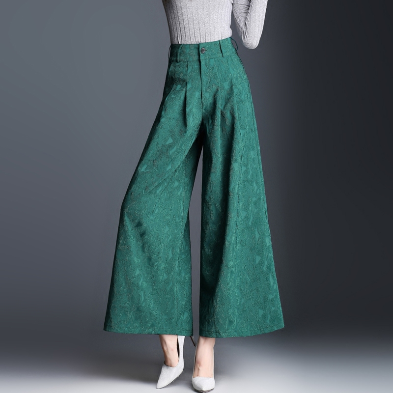 Ladies   wide     leg     pants   2018 New Spring and Summer Women Vintage Loose Trousers Female Casual Corduroy   Pants  / Womens Harem   Pants