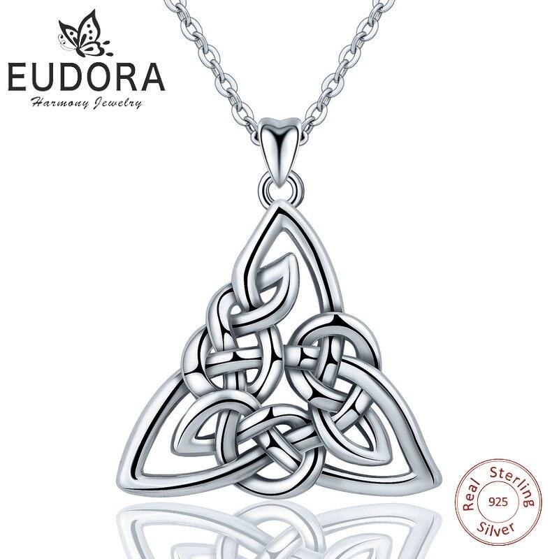 EUDORA 925 Sterling Silver Ireland Celtics Shamrock Stud