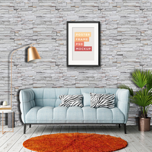 Stone Brick wall  Wallpaper Roll papel de parede 3D Living Room Background Wall Decor Art Wall Paper ST-1029
