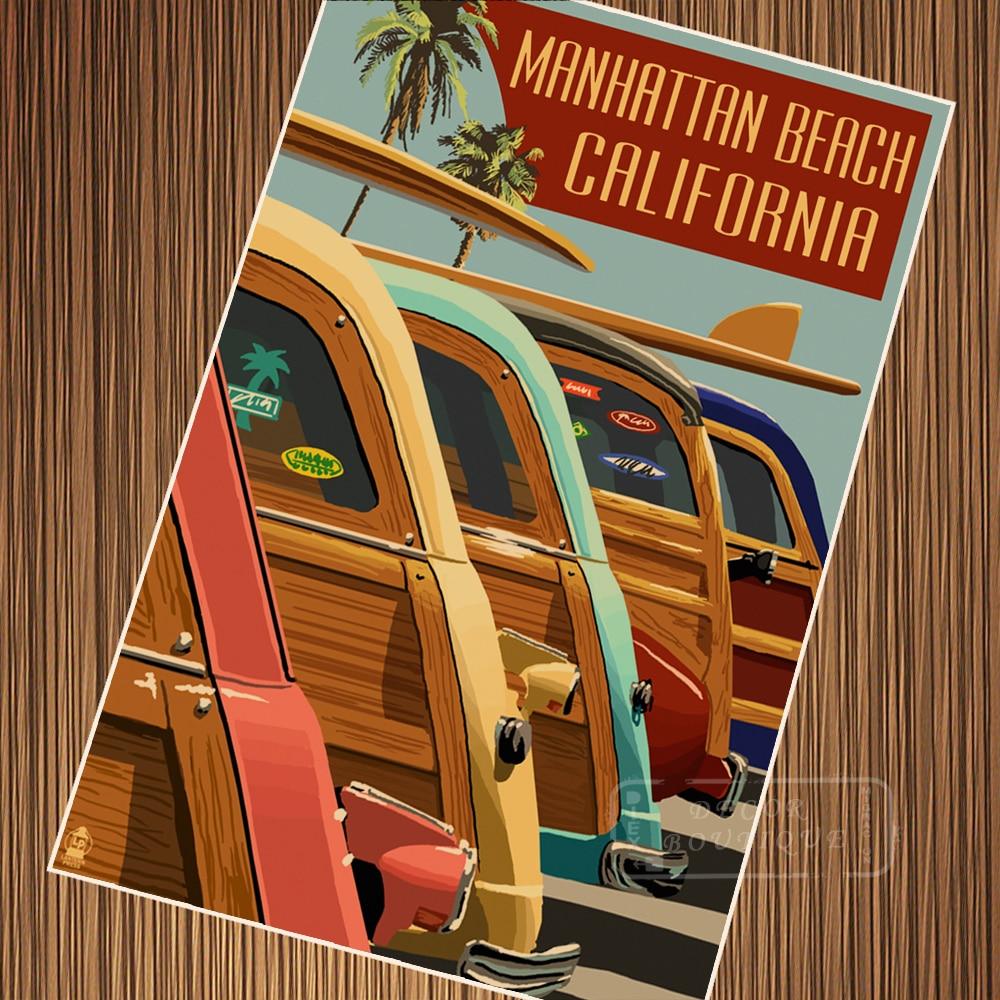 Maui Island Bus US Hawaii Travel Tour Retro Vintage Poster ...