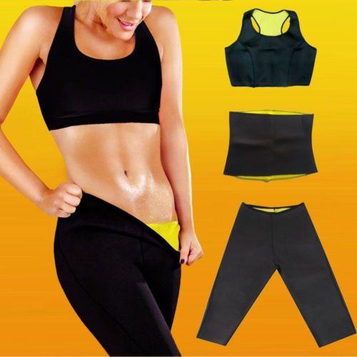 9ce5677c4c 3PCS LOT New Hot Neoprene Body Shaper Set Slimming Xtreme Waist Pants Slim  Belt Yoga Vest