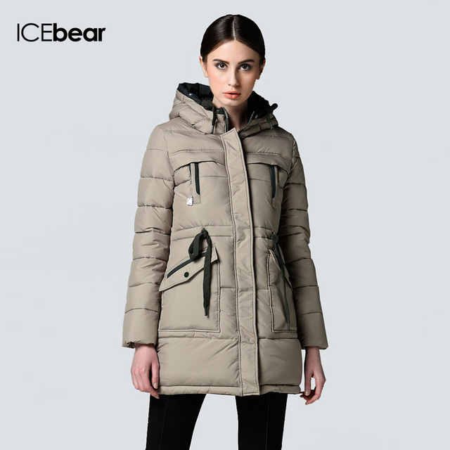 46992240573 Purelife of ICEbear Long Winter Brand Fashion Clothing 2015 Jacket And Girls  Plus Size Women Trendy