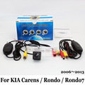 For KIA Carens / Rondo / Rondo7 2006~2013 / RCA Wire Or Wireless Car Rear View Camera CCD Night Vision HD Wide Lens Angle Camera