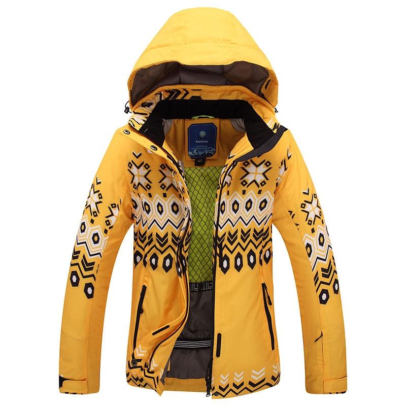 Hiver femmes veste de Ski en plein air neige Sportwear femmes hommes snowboard veste de Ski marque neige porter