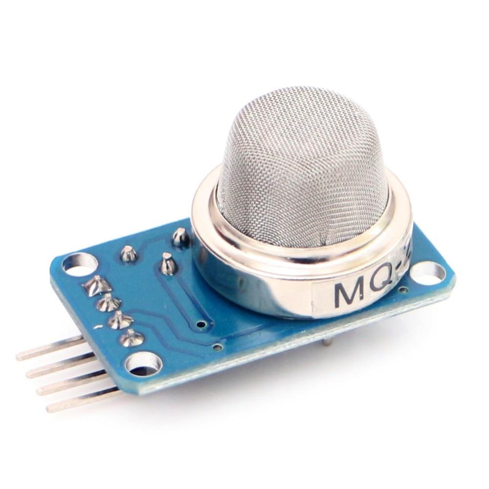 5pcs/lot MQ-2 Gas Sensor Module DC 5V Smoke Methane Butane Detection