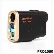 Promo offer Handheld laser rangefinder 1000m hunting range finder sport telescope monocular measure height speed measurement 004