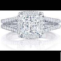 Бесплатная экспресс доставка 100% настоящие 585 кольца с Moissanite обручальные кольца, обручальные кольца, бриллиант, Муассанит пройти тест