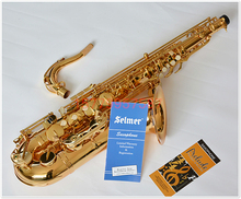 54 B Selmer Tenor Saxophone Musical Instrument Electrophoresis Gold Saxophone Professional Grade