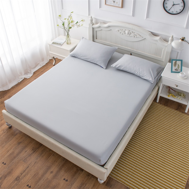 Fitted Sheet Bed Sheets Mattress Cover Pillow Case Bedding Cover Bed Linen With Elastic Band Single Twin Full Queen King