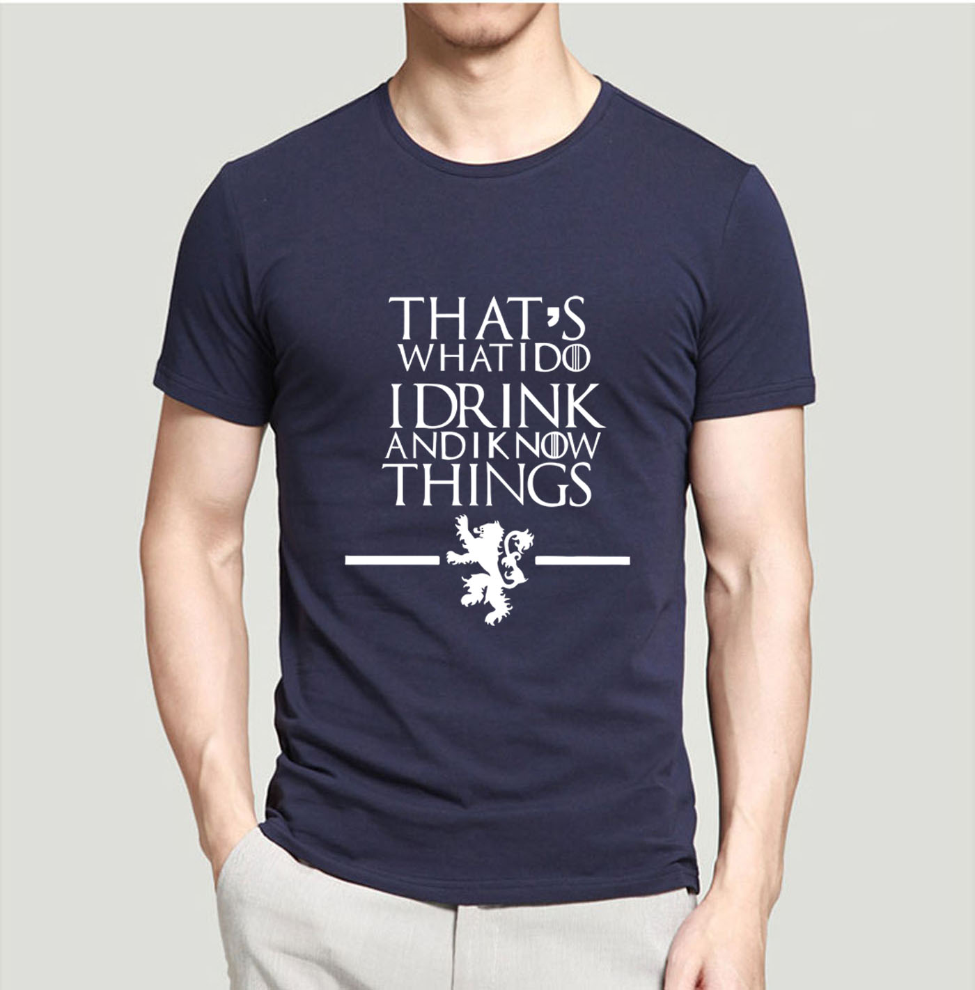 Game Of Thrones Men T Shirts That S What I Do I Drink And I Know