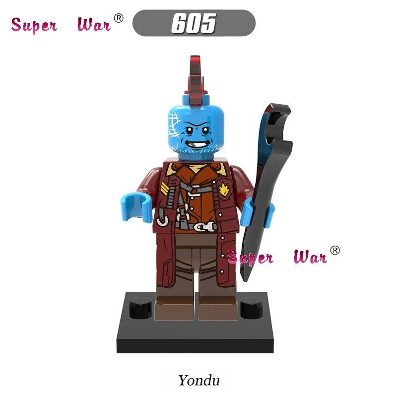 1PCS star wars building blocks Guardians of the Galaxy Yondu action sets model bricks toys hobbies for children