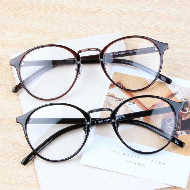 NEUE 2016 Frauen retro brillen optische Mode Runde klarglas rahmen ...