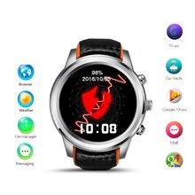 Android Smart Watch для Мужчин Наручные Спорт Шок Мода Часы Электронные Кожаный Gigital Wi-Fi Bluetooth Мужские военные Часы