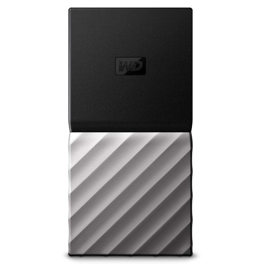 WD My Passport SSD Портативный хранения 256 GB/512 GB/1 ТБ/2 ТБ внешний твердотельный накопитель USB 3,1 Защита паролем для MAC портативных ПК