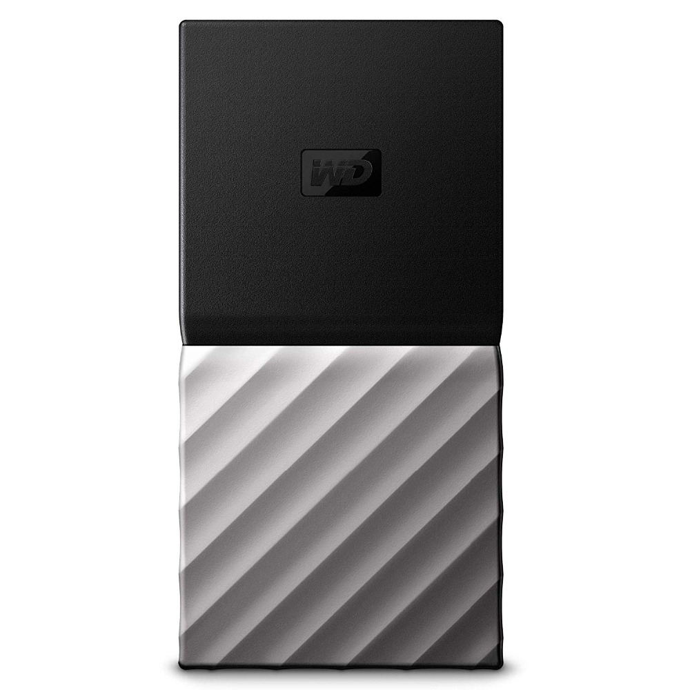 WD My Passport SSD Portable Storage 256GB/512GB/1TB/2TB External Solid State Drive USB 3.1 Password Protection for MAC PC Laptop