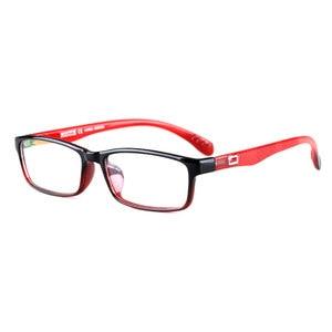 Image 4 - Toptical Ultra light TR90 Glasses Full Frame Square Eyeglasses Myopia Plain Eyewear Male Women Brand Design
