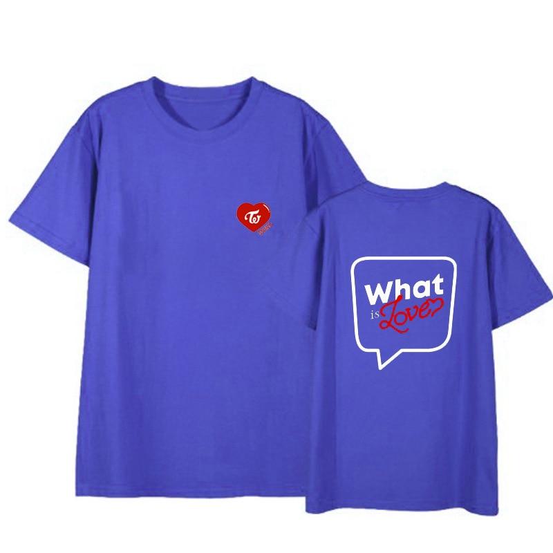 TWICE What is Love concert unisex T shirt short sleeve men T-shirt for summer woman tshirt (6)