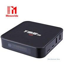 Mesuvida T95M S905X Smart TV Box Amlogic Quad Core 64Bit Android 6.0 4 K HD Media Player 1 GB/2 GB 8 GB 2.4 GHz WiFi BT 4.0