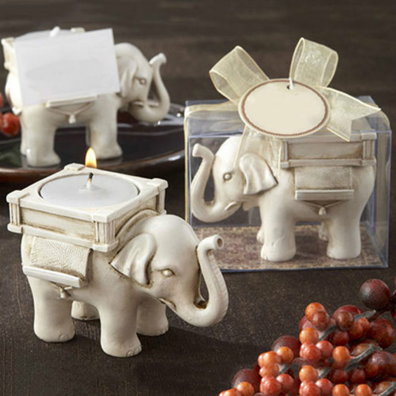 2018 Retro Elephant Tea Light Candle Holder Home Decor Candlestick Party Weding Favor Decor Faddish