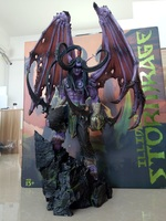 Nuovo WOW World Illidan Stormrage High Grade Resina GK Statua In Azione Anime Figure Da Collezione Model Toy 56cm