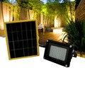 Kit de interior Solar portátil Solar sistema de iluminação impermeável 54 LEDs holofote para jardim de casa