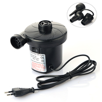 PUMPUMLY 1 SET AC 240V Electric Air Pump Inflate Deflate For Air Bed Boats Dolls Inflatable