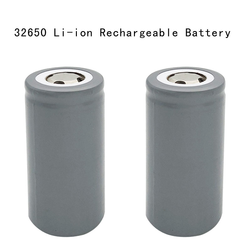 2pcs/lot 32650 3.7V Rechargeable 6000mAh Li-ion Batteries Battery For LED Flashlights Remote Control Toys Emergency lights