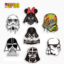 star war mask sticker battle fighting waterproof suitcase laptop guitar luggage skateboard bicycle toy lovely A0693 stickers(China)