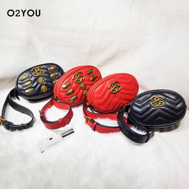 Fashion Women Waist Bag High Quality PU Leather Waist Pack For Female Girl Travel Belt Bag Pack 2017 Newest Fanny Bags Handbag