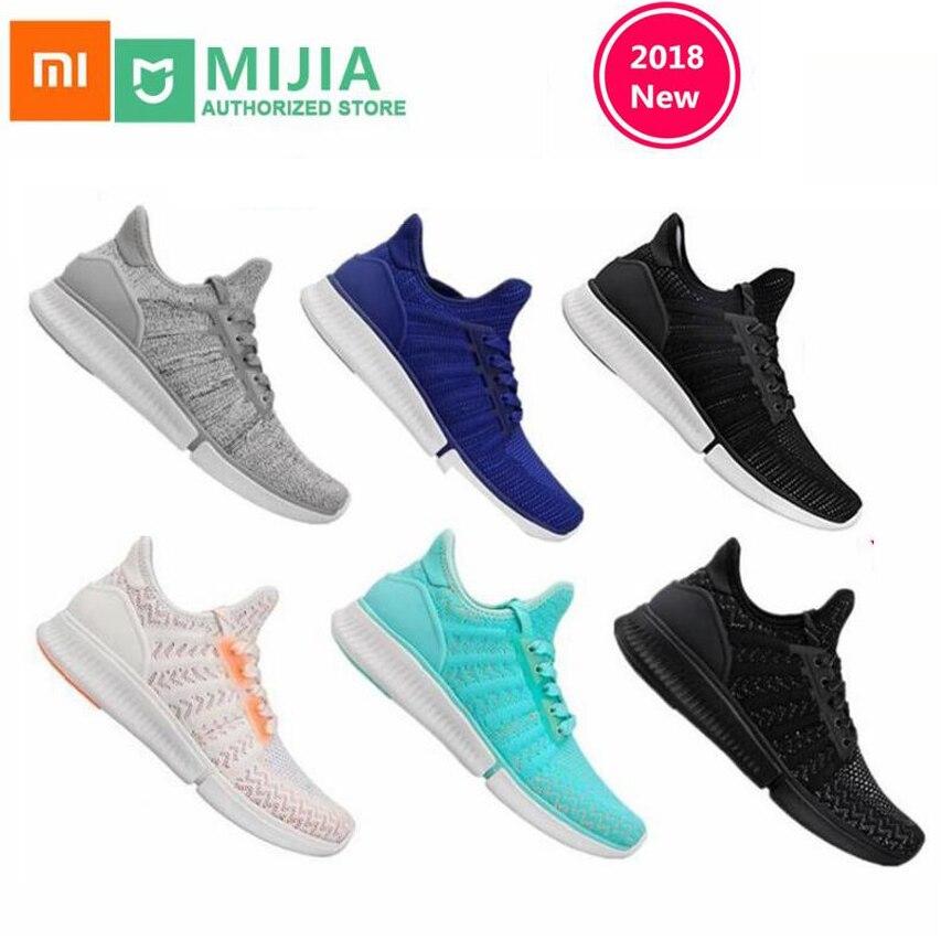 Xiaomi Original Mijia chaussures de sport Sneaker haute qualité mode professionnelle IP67 étanche pas de puce intelligente ultra chaussures lumineuses