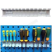 Outils de quincaillerie pour clés à cliquet, outil manuel, tournevis suspendu 380mm porte crochets