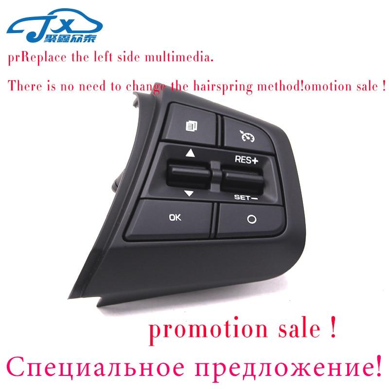 Image 2 - For Hyundai ix25 (creta) 1.6L Steering Wheel Cruise Control Buttons Remote Control Volume Button-in Steering Wheels & Steering Wheel Hubs from Automobiles & Motorcycles
