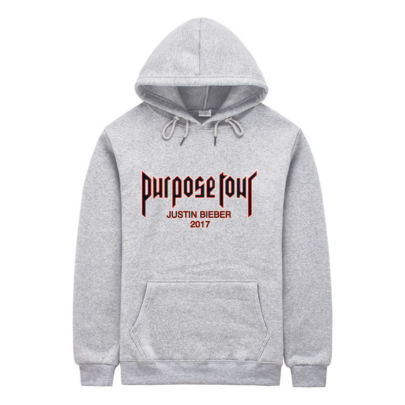 justin bieber purpose tour off white Hoodies Men High Quality Pink  Streetwear Purpose Tour Hoodie Mens Sweatshirt sweat homme-in Hoodies    Sweatshirts from ... b7b95f946cab